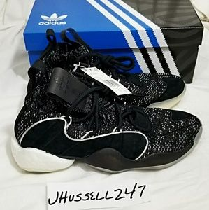 New Mens adidas Crazy BYW X Basketball Shoes